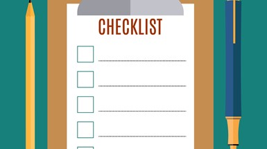 The checklist every start up needs